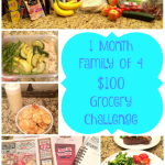 $100 Grocery Challenge — WEEK 1