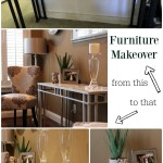 $15 DIY Furniture Makeover :: Console Table
