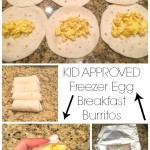Freezer Egg Breakfast Burritos