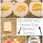 Freezer Egg Breakfast Burritos